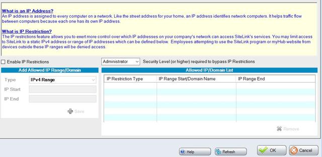 sitelink-security